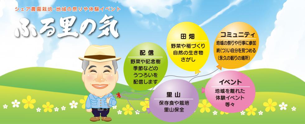ふる里の気|福島県いわき市のシェア農園栽培